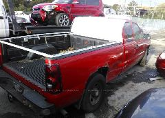 2003 Chevrolet SILVERADO - 2GCEC19V731102700 rear view