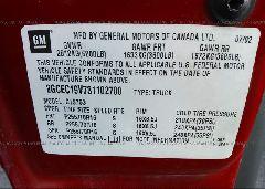 2003 Chevrolet SILVERADO - 2GCEC19V731102700 engine view