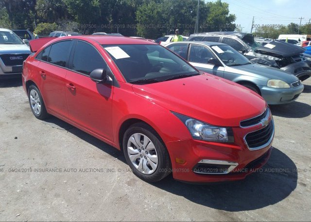 Inventory #715974799 2016 Chevrolet CRUZE LIMITED