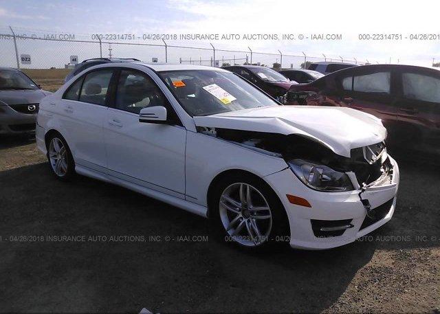 Inventory #426431700 2013 Mercedes-benz C