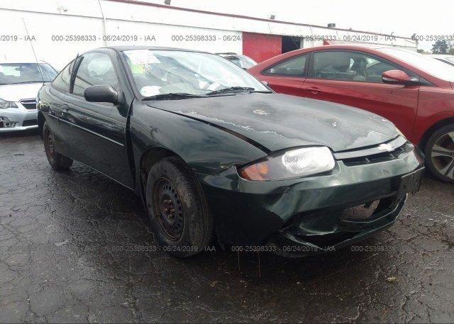 Inventory #111814782 2003 Chevrolet CAVALIER