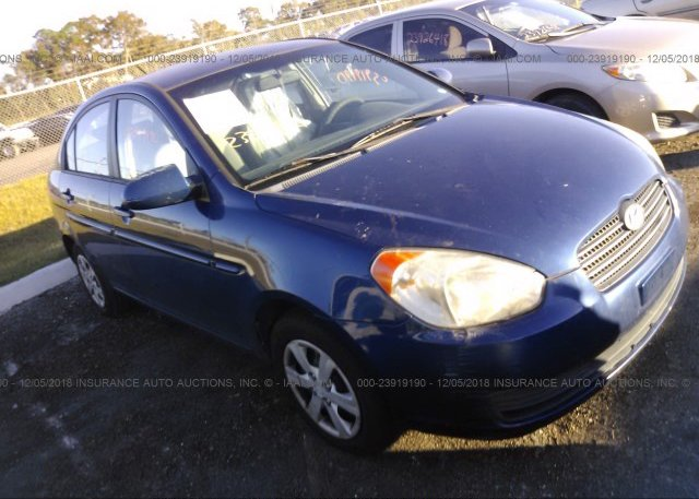 Inventory #609209473 2008 HYUNDAI ACCENT