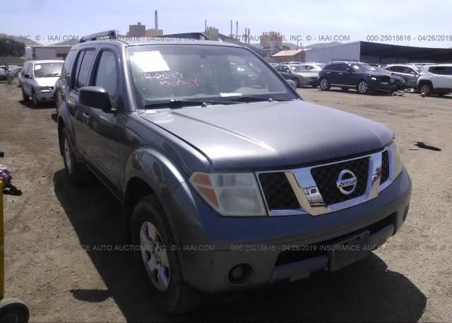 Inventory #857126359 2006 Nissan PATHFINDER