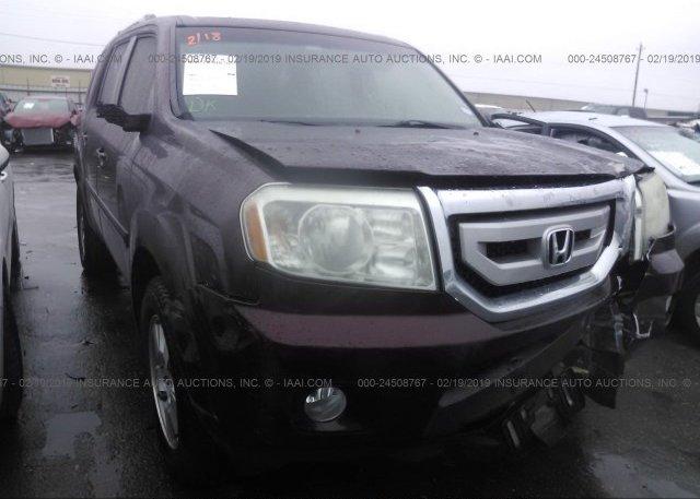 Inventory #786230675 2009 Honda PILOT
