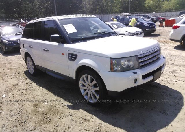 Inventory #121853387 2007 Land Rover RANGE ROVER SPORT