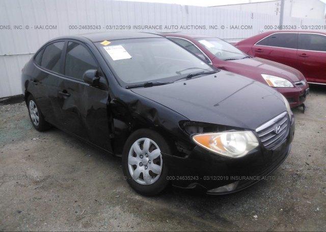 Inventory #375534401 2008 Hyundai ELANTRA