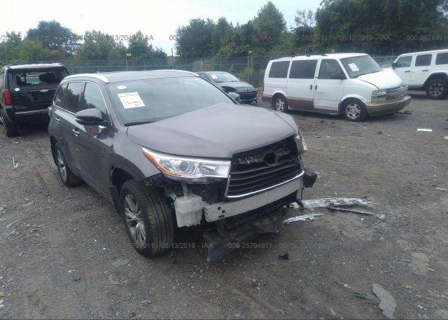 Inventory #361820793 2014 Toyota HIGHLANDER