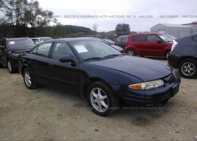 1g3nl52e71c263153 Clear Blue Oldsmobile Alero At Red Wing Mn On