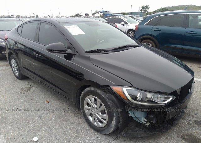 Inventory #720332848 2017 Hyundai ELANTRA