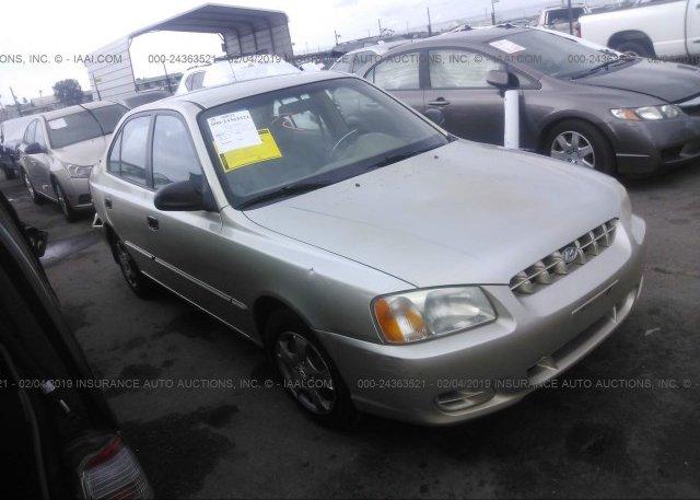 Inventory #789433949 2001 Hyundai ACCENT