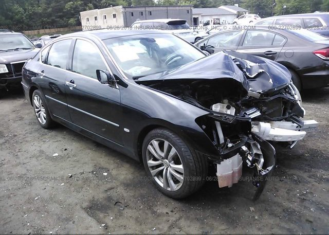 JNKBY01F08M550161 Clear Black Infiniti M45 At SHIRLEY MA On Online