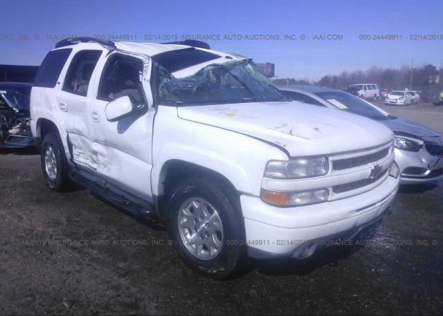 Inventory #648133520 2005 Chevrolet TAHOE
