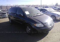 2007 Dodge GRAND CARAVAN - 1D4GP24R17B167600 Left View