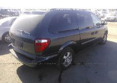 2007 Dodge GRAND CARAVAN - 1D4GP24R17B167600 rear view