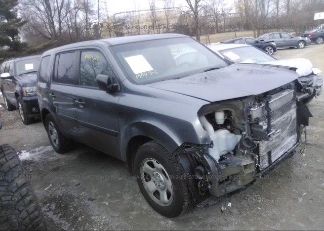 Inventory #201860927 2012 Honda PILOT