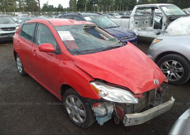 Inventory #481358441 2009 Toyota COROLLA MATRIX