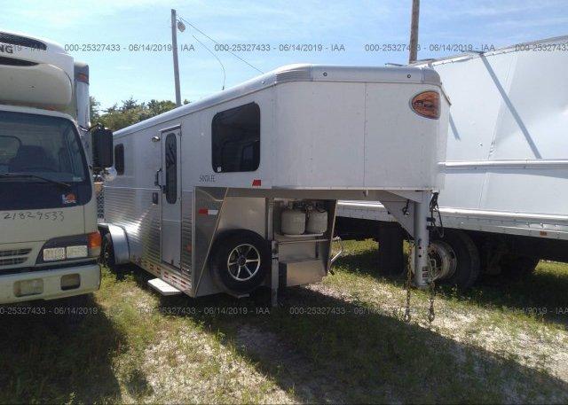 Sundowner Horse Trailers >> 13shg2425g1ha6575 Salvage Sundowner Horse Trailer At Blue