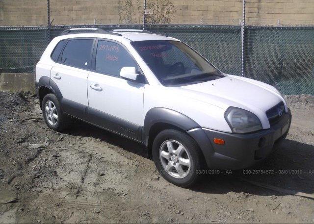 Inventory #164258078 2005 Hyundai TUCSON