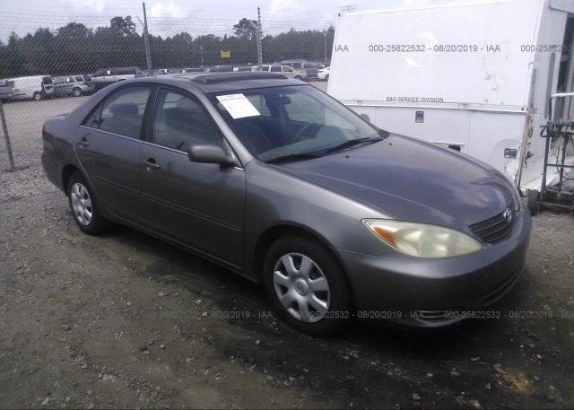 Inventory #276213942 2002 Toyota CAMRY
