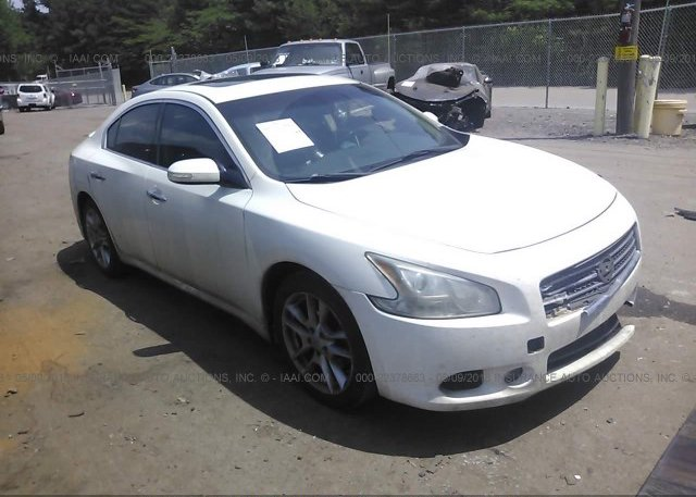 1n4aa5ap4bc841272 Salvage White Nissan Maxima At Bessemer Al On