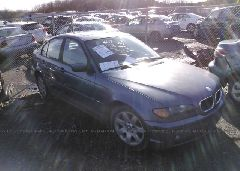 2002 BMW 325 - WBAEV33442KL68810 Left View