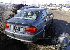 2002 BMW 325 - WBAEV33442KL68810 rear view