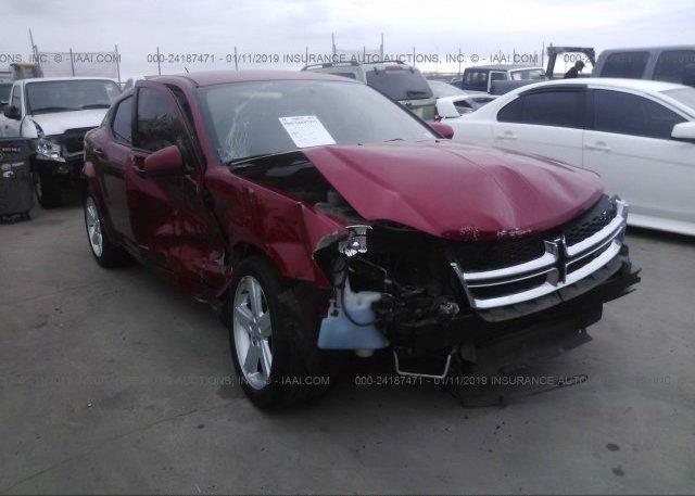 Inventory #676718846 2012 Dodge AVENGER
