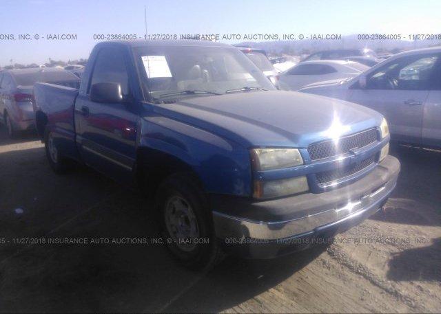 1gcec14x73z281420 Salvage Blue Chevrolet Silverado At Phoenix Az