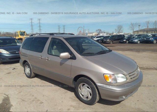 Inventory #955294423 2002 Toyota SIENNA