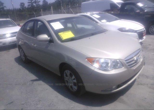 Inventory #230686046 2010 Hyundai ELANTRA