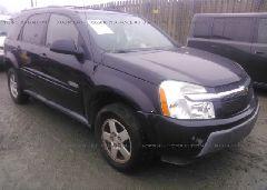 2006 Chevrolet EQUINOX - 2CNDL63F766007552 Left View