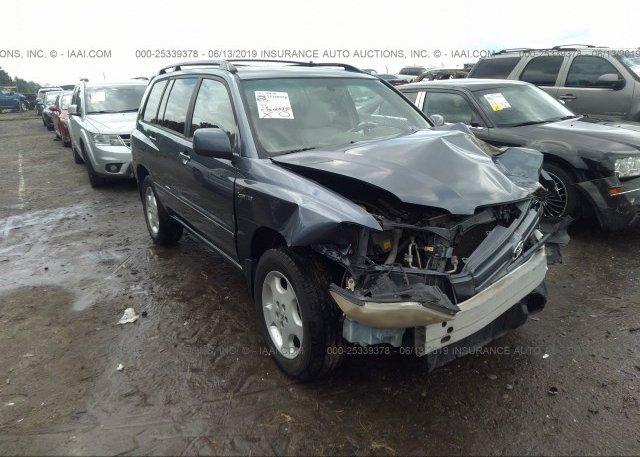 Inventory #871830225 2005 Toyota HIGHLANDER