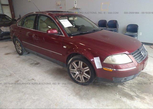 Inventory #921207957 2003 Volkswagen PASSAT
