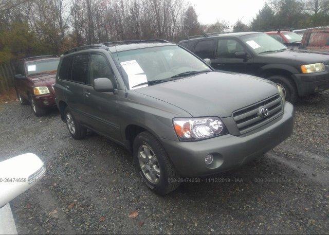 Inventory #823900827 2006 Toyota HIGHLANDER