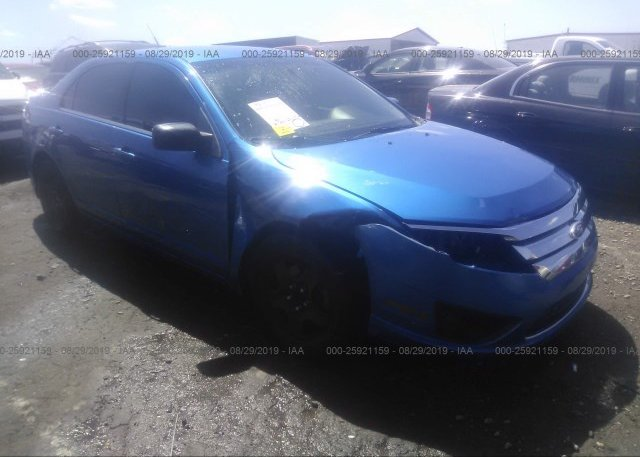 Inventory #714830720 2011 FORD FUSION