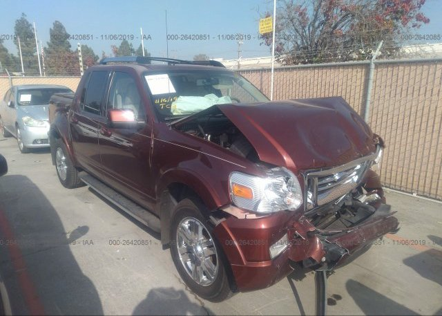 Inventory #466412175 2010 FORD EXPLORER SPORT TR