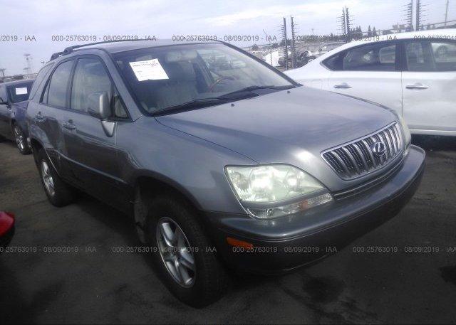 Inventory #449595212 2002 Lexus RX