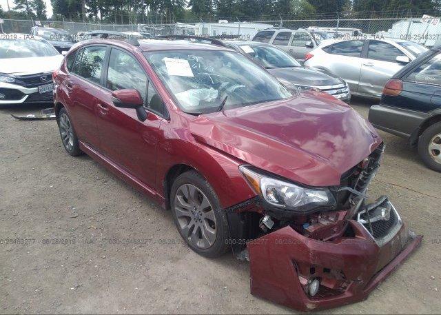 Inventory #989971104 2016 Subaru IMPREZA