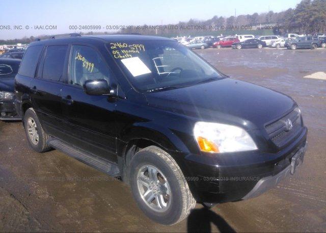 Inventory #664478348 2005 Honda PILOT