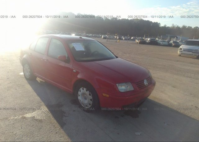 Inventory #199924798 2001 Volkswagen JETTA