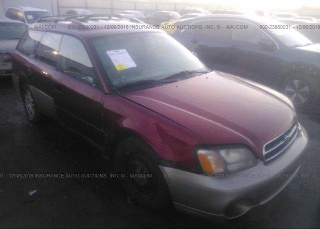 Inventory #995092302 2002 Subaru LEGACY