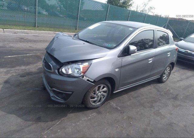 из сша 2018 MITSUBISHI MIRAGE ML32A4HJ1JH005448