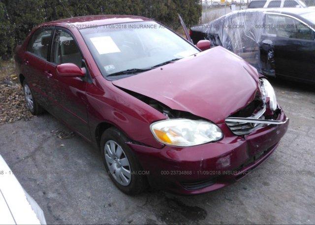 Inventory #997217138 2003 Toyota COROLLA
