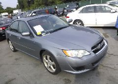 2008 Subaru LEGACY - 4S3BL616X87226362 Left View