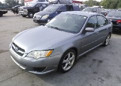 2008 Subaru LEGACY - 4S3BL616X87226362 Right View