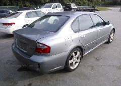 2008 Subaru LEGACY - 4S3BL616X87226362 rear view