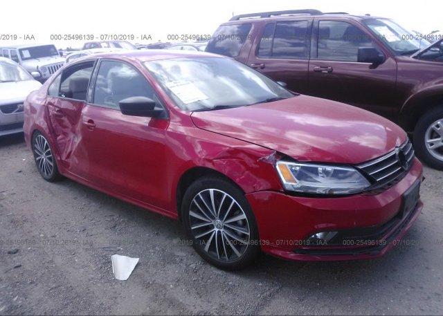 Inventory #376940765 2016 Volkswagen JETTA