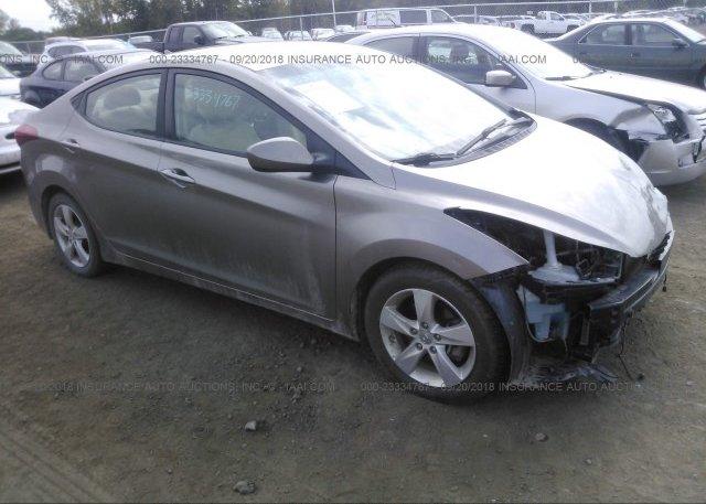 Inventory #713187882 2013 Hyundai ELANTRA