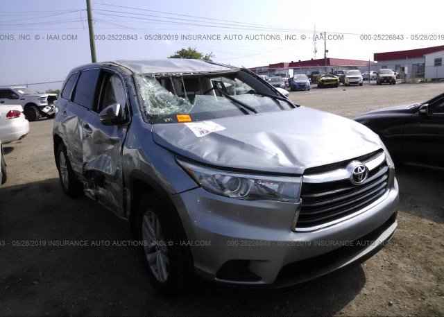 Inventory #707736422 2015 Toyota HIGHLANDER