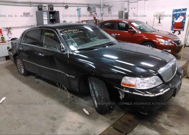 1lnhm82w95y611317 Parts Only Bos Black Lincoln Town Car At Saint